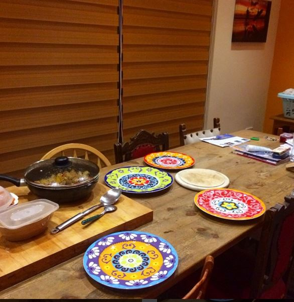 Beautiful plates and finally blinds (1/6)